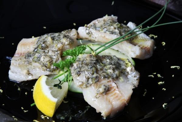 főtt hal kaporral