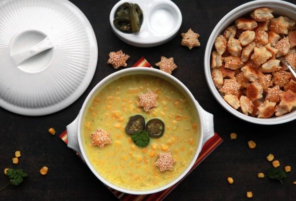 currys kukorica jalapenoval