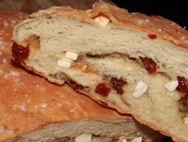 padlizsánkrémes fetás szárított paradicsomos kenyér 3